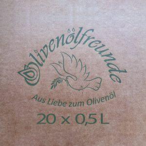 Olivenöl 20x0,5 Liter