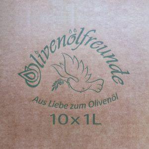 Olivenöl 10x1,0 iter