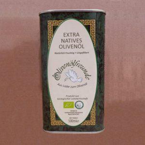Olivenöl 0,5 Liter